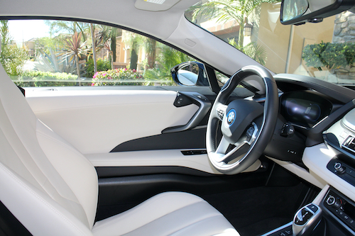 BMW Grey and Black Interior