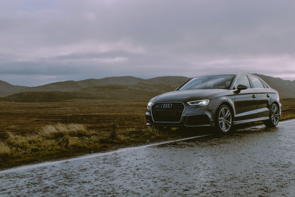 audi on roadside featured image